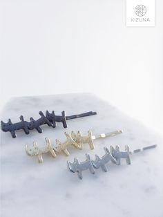 Hair Pins, Hair Accessories, Stud Earrings, Silver, Gold, Gifts, Jewelry, Bobby Pins, Presents
