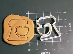 Kitchenaid Stand Mixer Cookie Cutter Made to order di CookieParlor, $7.99