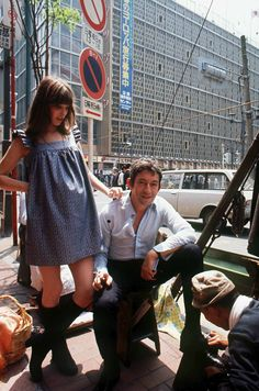 Jane Birkin.  Too cute for maternity.. Not me but cute