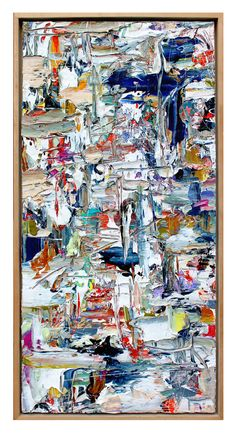 Abstract Painting Adam Cohen Studio 2015 Abstract Art