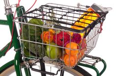 Basket for my bike. I like that it comes off so you can carry it