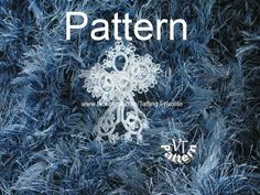 Tutorial photo in PDF, Christmas angel-3D, PDF Tatting pattern and tutorial, scheme chiacchierino, tatted angel by TattingPatternDesign on Etsy
