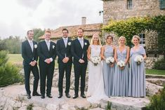 Platinum grey Ballgowns | twobirds Bridesmaid Dresses | A beautiful wedding featuring our multiway, convertible dress | Photography: M and J Photography