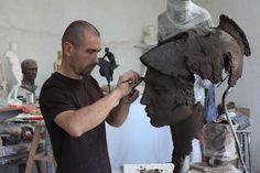 Christophe Charbonnel Dans l'atelier ... Athéna ...
