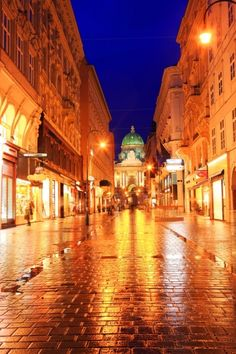 Vienna. Actually, I have been here.  stood in this spot.  one of my FAV cities in the world #austria #travel #vacation