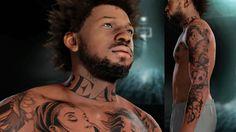 NBA 2k16 My Career Gameplay Ep. 6 - Customized Tattoos on Bridges! How t...