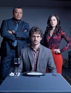 Jack Crawford, Will Graham, and Alana Bloom