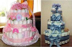 Торт из памперсов - как сделать своими руками. Мастер-класс торта из памперсов для девочки или мальчика с пошаговыми фото