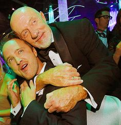 Aaron Paul & Jonathan Banks