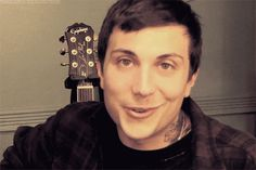 Animated gif uploaded by Dust. Find images and videos about my chemical romance, mcr and frank iero on We Heart It - the app to get lost in what you love. My Chemical Romance, Frank Iero, Emo Bands, Music Bands, Ray Toro, Heart Beating Fast, Sweat Out, Emo Guys, Black Parade