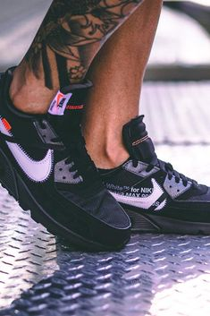 44ba85d571 Discover the Off-White X Nike Air Max 90 Black collection on Oculy our shoe
