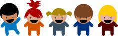 Funny Kids Clip Art Wall Stickers for Preschool and Kindergarten Montessori Activities, Educational Activities, Learning Activities, Preschool Activities, Kids Learning, Toddler Fun, Toddler Preschool, Montessori Toddler, Nursery Practitioner