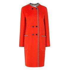 LK Bennett red coat