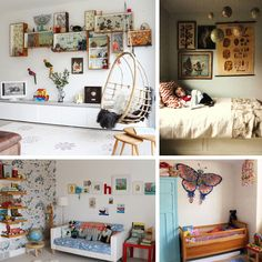 """25 of the Most Original Kids Rooms""  (which won't be too original once Pinterest gets a hold of it) =]"