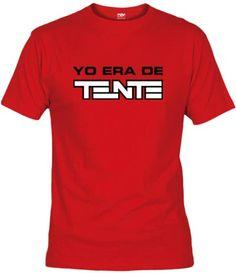 Camiseta Yo era de Tente, Camisetas Retro, Fanisetas, Camiseta para los que de pequeño preferían jugar con los Tente en vez de Lego..
