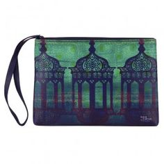 Minaret Mystique Utility Pouch : This utility pouch has beautiful minarets which are vivid and exquisite to look at. Unique and elegant, this utility pouch is a must have.
