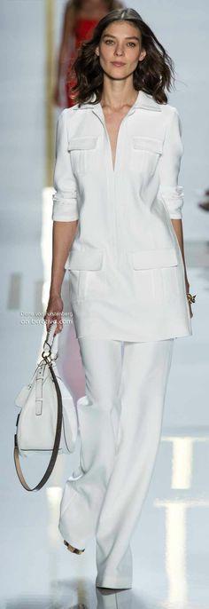 Diane von Furstenberg Spring 2014 New York Fashion Week | The House of Beccaria#
