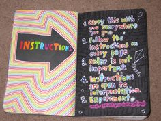 wreck this journal instructions - Google Search