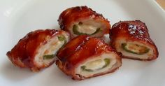 Chicken Bombs (chicken, jalapenos, bacon, and cheese): Deliciously unhealthy