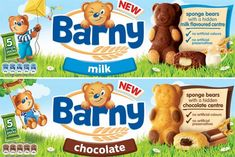 barny chocolate teddy bear cakes