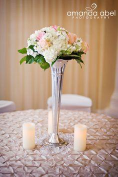 Wedding Details Table Centerpiece Amanda Abel Photography