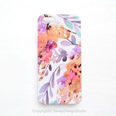 Golden Wisteria original design iPhone 5S case, iPhone 5/5S, iPhone 5C, iPhone 4/4S, Samsung Galaxy and iPad cases by SenayStudio on Etsy