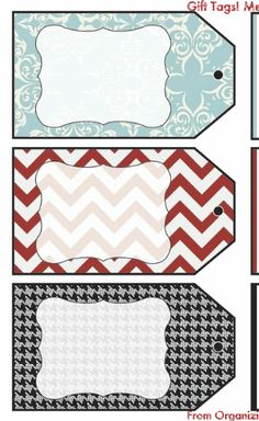 Christmas wrapping ideas and FREE printable gift tags!