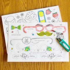 Kids Activity Placemats