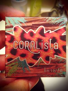 Benefit Cosmetics Coralista Blush