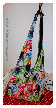 love, peace & harmony  bag