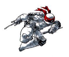 raphael ninja turtle by `mooncalfe on deviantART