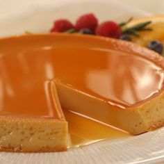 Vanilla Flan ~ This all-time favorite Vanilla Flan recipe is sweet, comforting, rich and a universally known Spanish dessert that is a enjoyed in many Latin-American countries. It's French relative is crème caramel. Flan is well suited to follow a spicy meal or as a delicious snack with a fresh, hot cup of coffee.