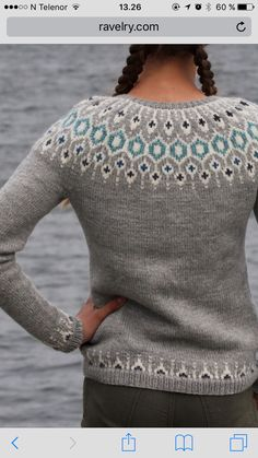 Norwegian Knitting Designs, Sweater Cardigan, Men Sweater, Sweater Knitting Patterns, Knitting Ideas, Crochet Top, Pullover, My Style, Sweaters