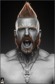 ArtStation - Sheamus - WWE, Hossein Diba