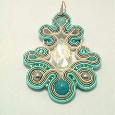 Soutache Earrings, Ring Earrings, Beaded Embroidery, Belly Button Rings, Barrette, Beads, Collar, School, Diy Kid Jewelry