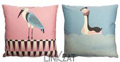 Coussins oiseaux   #bird #cushion #coussin