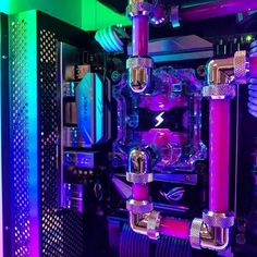 The Gamer Xtreme gaming PC is a fine example of the hard-won standing of CyberPowerPC in the gaming community. Gaming Computer Setup, Best Gaming Setup, Gaming Pc Build, Gaming Pcs, Gaming Rooms, Computer Desks, Pc Cases, Custom Computer Case, Custom Computers