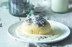 Chlupaté knedlíky | Apetitonline.cz Thing 1, Sweet Desserts, Food And Drink, Pudding, Favorite Recipes, Baking, Eat, Hampers, Custard Pudding