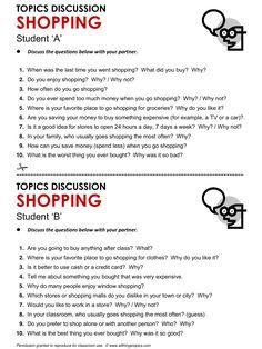 Shopping, English, Learning English, Vocabulary, ESL, English Phrases, http://www.allthingstopics.com/shopping.html