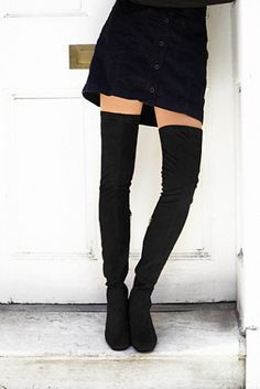 Jeffrey Campbell Womens PARKWAY THIGH HIGH BOOT - Bohemian Summer Fashion Trend 2017
