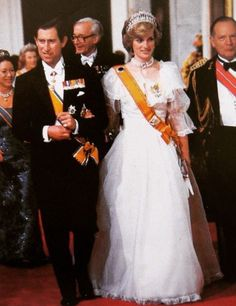 Princess Diana and Prince Charles...the cuffs, the cuffs lol
