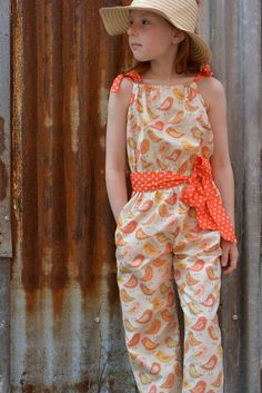 Peachy Playsuit in size 8 http://www.felicitysewingpatterns.com/product/new-spring-pattern-release-peachy-dress-playsuit-girls-dress-and-romper-sewing-pattern-6-sty