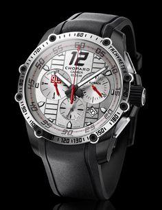 La Cote des Montres : La montre Chopard Superfast Chrono Porsche 919 Only Watch 2015 - Un chronographe pour l'Association Monégasque contre les Myopathies