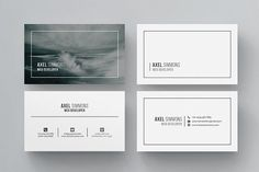 Modern & Clean Business Card by ThemeDevisers on @creativemarket