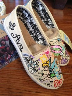 Retro Disney toms shoes Dooney and Bourke Disney by xbrookemx