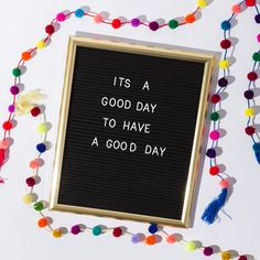 Learn how Brit+co used our Acrylic felt to make this DIY letter board