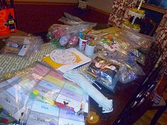 I hosted a toddler busy bag / activity bag swap a while back.  Here are ideas of things we made.