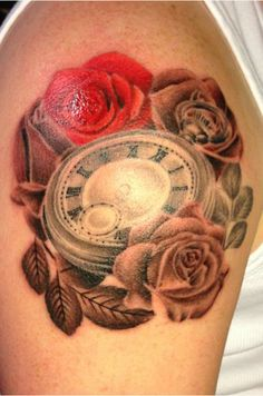 Pocket Watch Tattoo By Sarah http://www.vividinkbirmingham.co.uk/index.php/artists/sarah