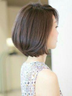 Pin on 髪型 Short Bob Hairstyles, Hairstyles Haircuts, Medium Hair Styles, Long Hair Styles, Short Hair Trends, Shot Hair Styles, Long Hair Cuts, Grunge Hair, Layered Hair