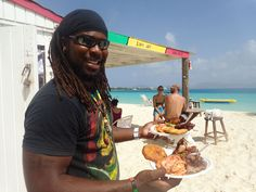 Located right on Rendezvous Bay, Garvey's Sunshine Shack is a laid back beach bar and BBQ spot that is a favorite for many visitors to Anguilla. | Anguilla Beaches